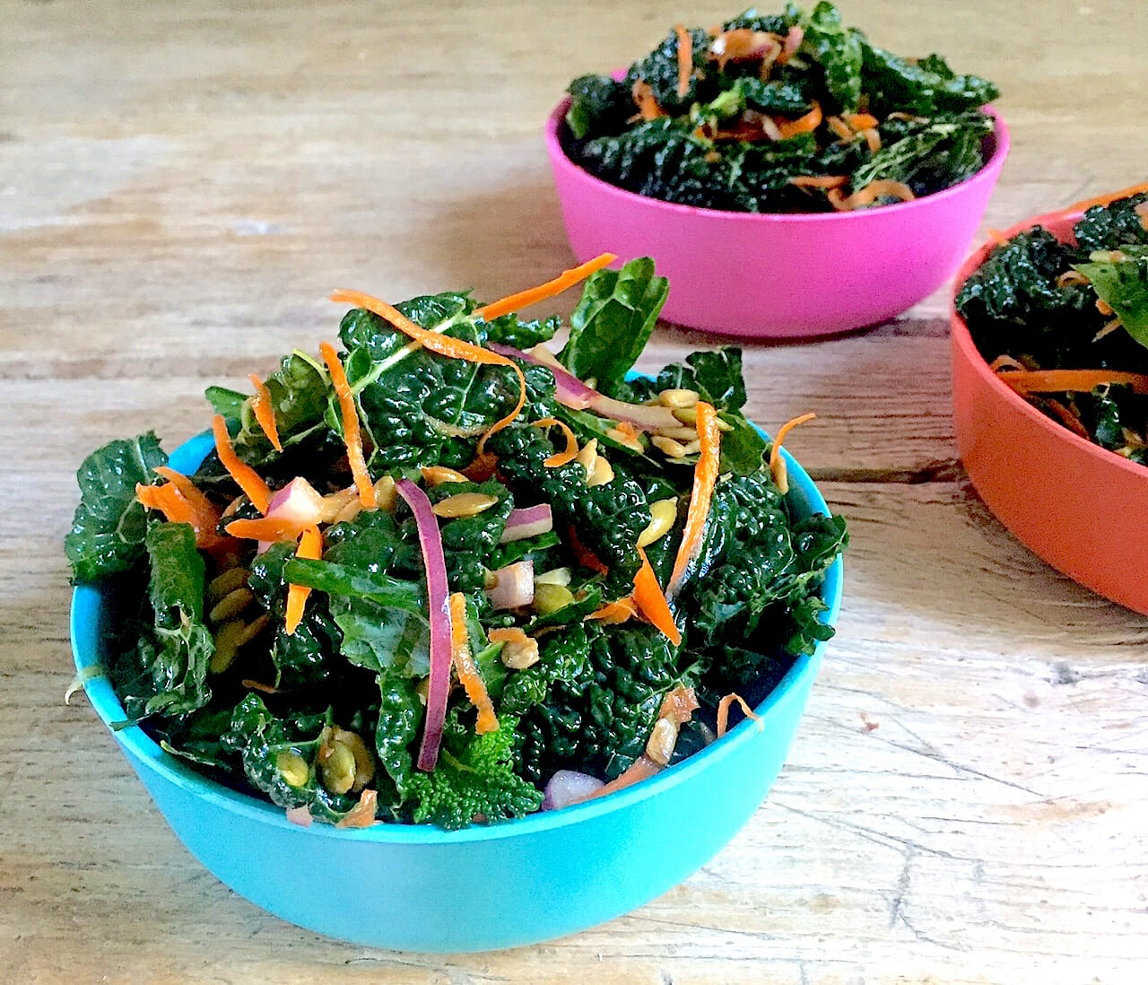 kale salad for kids